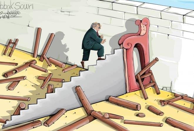 """كاريكاتير: """"وصولي"""""""